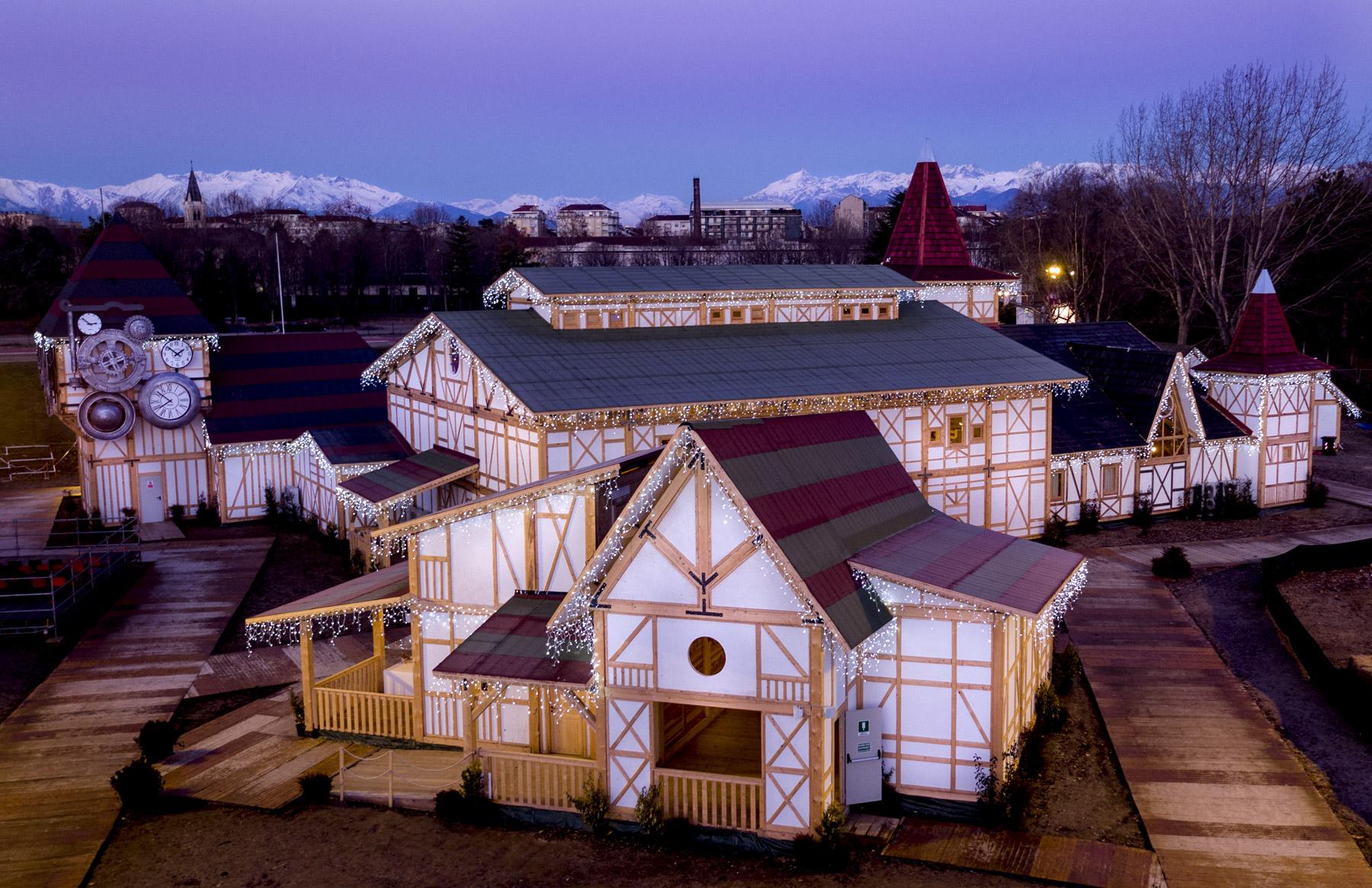 I Mercatini di Natale Venaria Reale Villaggio Il Sogno del Natale Torino